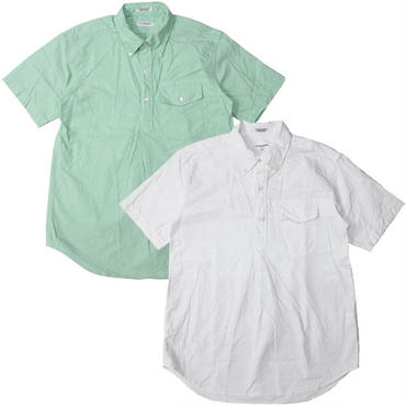 "Engineered Garments(エンジニアードガーメンツ)""Pop Over BD Shirt - Solid Cotton Oxford"""