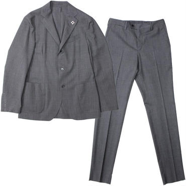 "LARDINI(ラルディーニ)""Stretch Wool Tropical 3B Packable Suit [EASY WEAR]"""