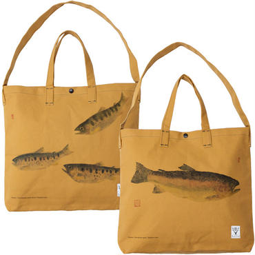 "South2 West8 (サウスツーウエストエイト)""Grocery Bag - Gyotaku Print"""