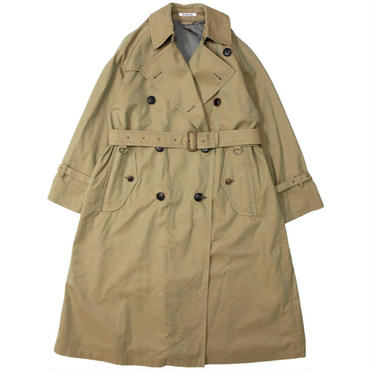 "Ladies' /AURALEE(レディース オーラリー)""FINX CHAMBRAY BIG TRENCH COAT"""