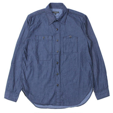 "Engineered Garments(エンジニアードガーメンツ)""Work Shirt - Lt. Weight Denim"""
