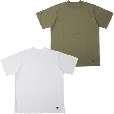"South2 West8(サウスツーウエストエイト)""Mock Neck S/S Tee -Cordura Jersey"""