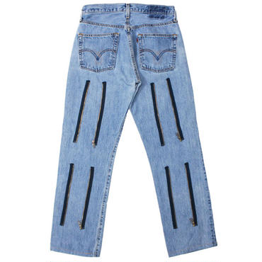 "REBUILD BY NEEDLES(リビルドバイニードルス)""#501 -> Zipper Pant"""