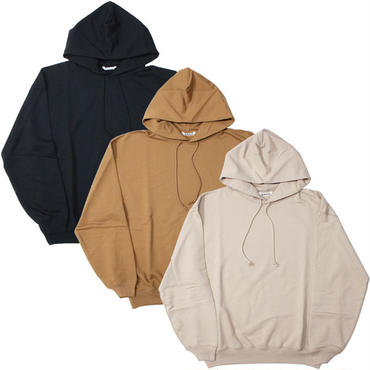 "Ladies /AURALEE(レディース オーラリー)""SUPER SOFT HEAVY SWEAT P/O PARKA"