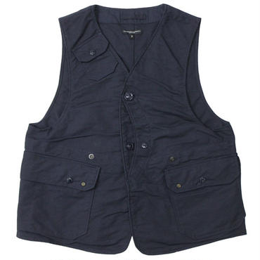 "Engineered Garments(エンジニアードガーメンツ)""Upland Vest - Cotton Double Cloth"""
