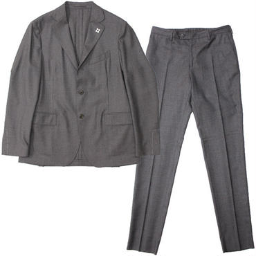 "LARDINI(ラルディーニ)""Stretch Wool Light Flannel 3B Packable Suit [EASY WEAR]"""