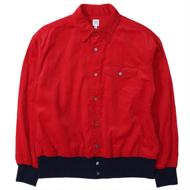 "RANDT(アールアンドティー)""Knit Button Shirt - 21W Corduroy"""