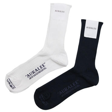 "Ladies' /AURALEE(レディース オーラリー)""GIZA HIGH GAUGE SOX"""