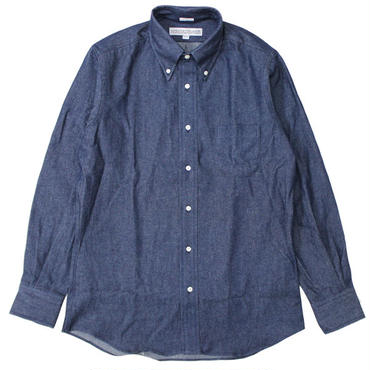 "INDIVIDUALIZED SHIRTS(インディビジュアライズドシャツ)""VINTAGE DENIM BLUE / STANDARD FIT [Q07NBO-K]"""