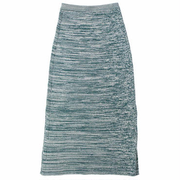 "Ladies' /AURALEE(レディース オーラリー)""MIX WIDE RIB KNIT SKIRT"""