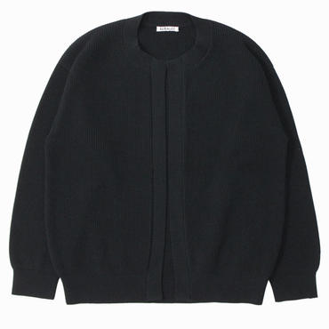 "AURALEE(オーラリー)""SUPER HARD TWIST RIB KNIT CARDIGAN"""