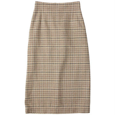 "Ladies' AURALEE(レディース オーラリー)""SILK SUMMER TWEED SLIT SKIRT"""