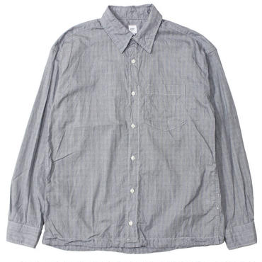 "RANDT(アールアンドティー)""Draw Shirt - Grey Check"""