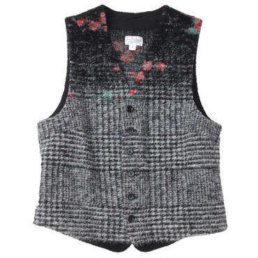 "FWK By ENGINEERED GARMENTS(エフダブリューケー バイ エンジニアド ガーメンツ)""Knit Vest - Floral Glen Knit"""