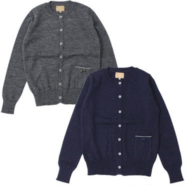 "Ladies' /Nigel Cabourn WOMAN(ナイジェルケーボン ウーマン)""CREW NECK CARDIGAN"""