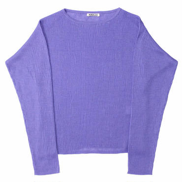 "Ladies' /AURALEE(レディース オーラリー)""WATER TWISTED RAMIE RIB KNIT P/O"""