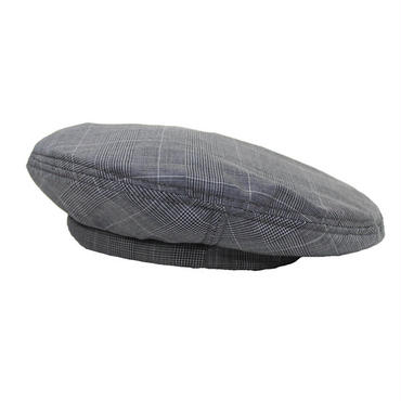 "ENGINEERED GARMENTS(エンジニアード ガーメンツ)""Beret - Tropical Wool Glen Plaid"""