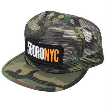 """5BORO NYC(ファイブボロー ニューヨークシティ)""""5BORONYC LOGO MESH SNAPBACK"""""""