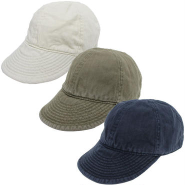 "Nigel Cabourn × LYBRO(ナイジェルケーボン×ライブロ)""MECHANICS CAP GARMENT DYED COTTON HERRINBONE"""