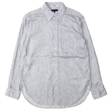 "Engineered Garments(エンジニアードガーメンツ)""19th BD Shirt - Grey Print"""