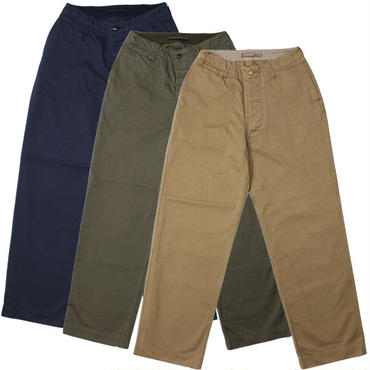 "Nigel Cabourn(ナイジェルケーボン)""BASIC MILITARY CHINO""BEIGE,OLIVE,NAVY【再入荷】"