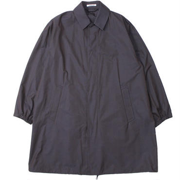 "AURALEE(オーラリー)""FINX SILK CHAMBRAY BIG SOUTIEN COLLAR COAT"""