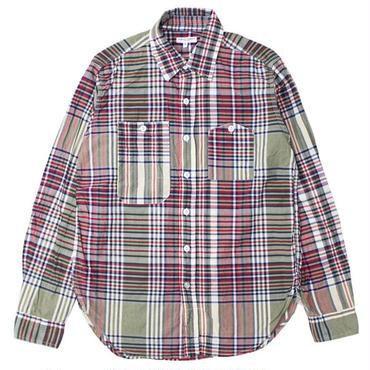 "Engineered Garments(エンジニアードガーメンツ)""Work Shirt - Big Plaid"""