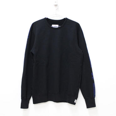 REIGNING CHAMP(レイニングチャンプ)- CREWNECK L/S TWILL TERRY PULLOVER CAMO -BLACK/BLUE