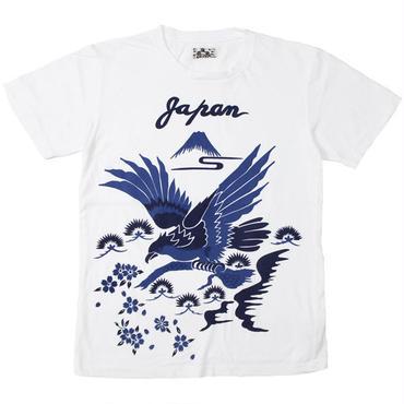 """BLUE BLUE JAPAN(ブルーブルージャパン)""""タカトマツ フジトサクラ SS Tシャツ"""""""