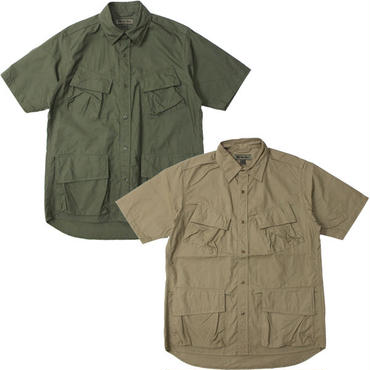 "Nigel Cabourn(ナイジェルケーボン)""FATIGUE SHIRT S/S  [VINTAGE RIP STOP]"""