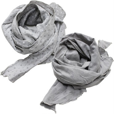 "Engineered Garments(エンジニアード ガーメンツ)""Long Scarf - H.Grey Double Gauze"""