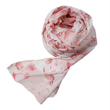 "Engineered Garments(エンジニアード ガーメンツ)""Long Scarf - Flamingo Print"""