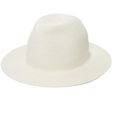 "KIJIMA TAKAYUKI(キジマ タカユキ)""PAPER BRAID MIDDLE BRIM HAT [No.161219]"""