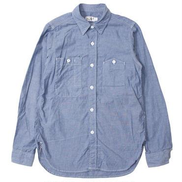 "FWK By ENGINEERED GARMENTS(エフダブリューケー バイ エンジニアド ガーメンツ)""Work Shirt - Cotton Chambray"""