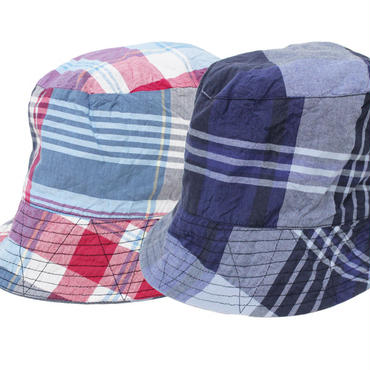 "Engineered Garments(エンジニアード ガーメンツ)""REVERSIBLE BUCKET HAT - BIG PLAID"""