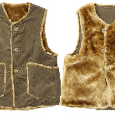 "Engineered Garments(エンジニアードガーメンツ)""Over Vest - 11W Corduroy"""