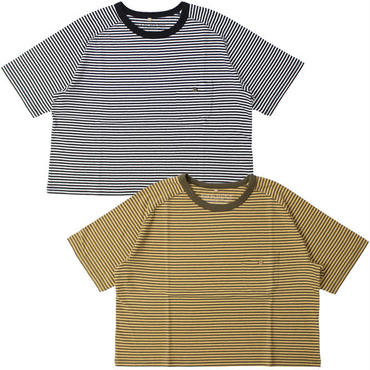 "Ladies'/Nigel Cabourn WOMAN(ナイジェルケーボン ウーマン)""FREEDOM SLEEVE BIG T-SHIRT [STRIPE]"""