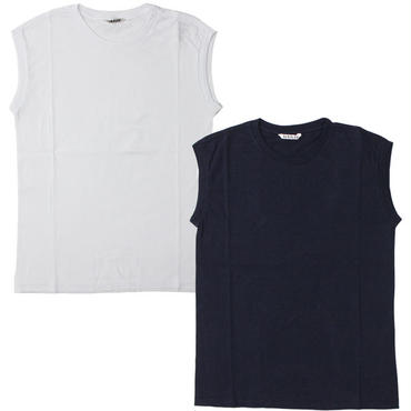 "Ladies' /AURALEE(レディース オーラリー)""SEAMLESS CREW NECK SLEEVELESS"""