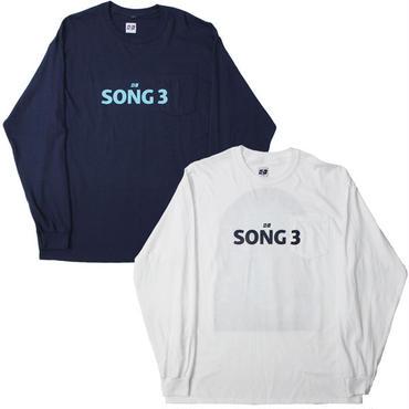 """AiE(エーアイイー)""""Big L/S Pocket T-shirt - Song 3"""""""