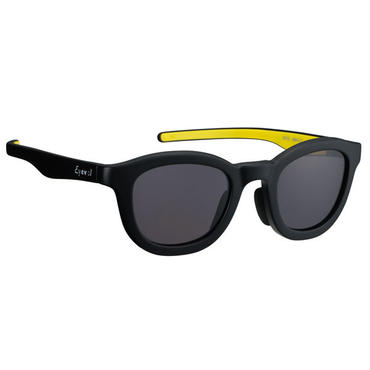 "Eyevol(アイヴォル)""RYS - MAT BLACK/YELLOW"""