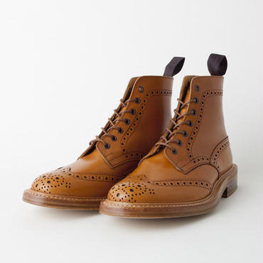 Tricker's(トリッカーズ)- MALTON M2508  Leather Sole -ACORN