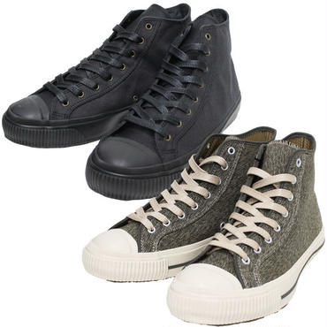 "Nigel Cabourn(ナイジェルケーボン)""ARMY TRAINERS [SOLID/ARMY] HIGH TOP"""
