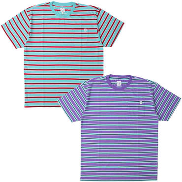 "POLAR SKATE CO.(ポーラー スケート カンパニー)""STRIPED POCKET TEE"""