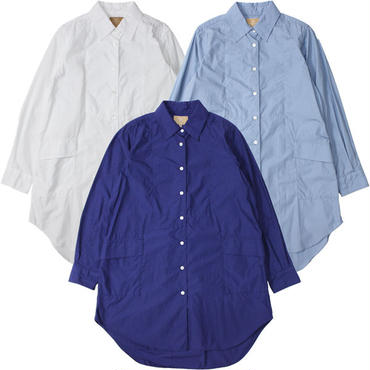 "Ladies'/Nigel Cabourn WOMAN(ナイジェルケーボン ウーマン)""LONG SHIRT"""
