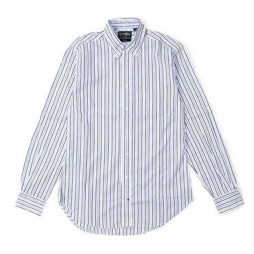 Gitman Vintage(ギットマン ビンテージ)- Button Down Shirt - Zephyr Alternating Stripe