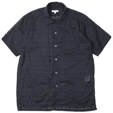 """Engineered Garments(エンジニアードガーメンツ)""""Camp Shirt - Window Pane Cotton Dobby"""""""