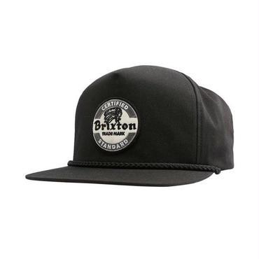 BRIXTON(ブリクストン) SOTO HP SNAPBACK ソト BLACK ブラック スナップバックキャップ/ハット/CAP/SNAP BACK