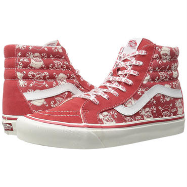 [バンズ]VANS Men's SK8-Hi 38 REISSUE STV/Pirate Santa/Red 50TH VANS 50周年モデル