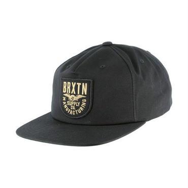 BRIXTON(ブリクストン)ALLIANCE アライアンス SNAP BACK ブラック スナップバックキャップ/ハット/CAP/SNAP BACK