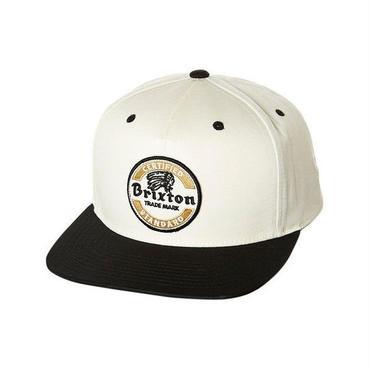 BRIXTON(ブリクストン) SOTO LYP SNAP BACK ソト ホワイト WHITE スナップバックキャップ/ハット/CAP/SNAP BACK